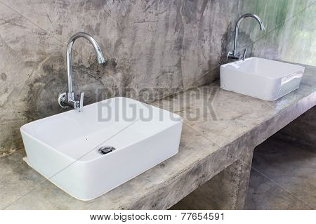Hand Washing Basin , object in bahtroom poster