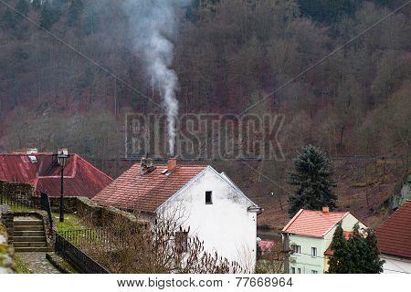 Loket Town, Czech Republic