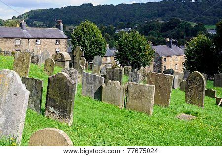 Church graveyard, Bakewell.