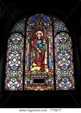 Stained-Glass Church Windows
