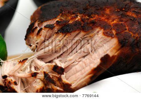 Close-up Of Mexican Pork Carnitas