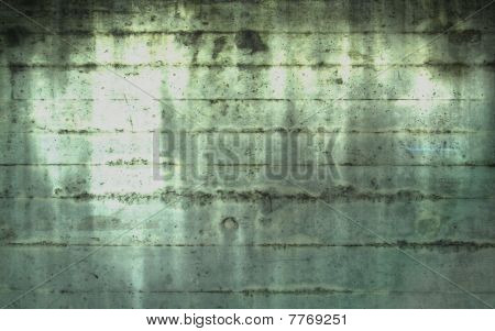 Spirit Light in Concrete Wall