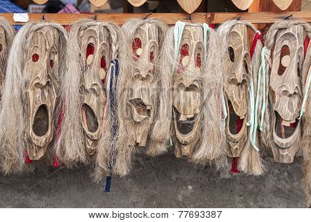 Romanian Traditonal Masks