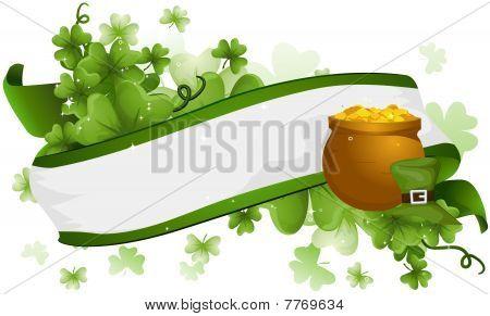 St Patrick Ribbon