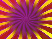 Colorful twisted rays - a great background for flyer designs, cd covers, etc. poster