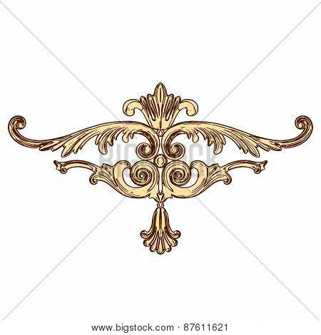 Vector Golden Ornaments