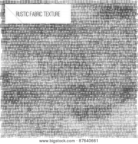 Vector dotted Fabric rustic texture - half tone effect for your design. EPS10