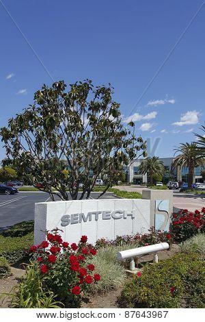 Headquarter Office of Semtech, CA