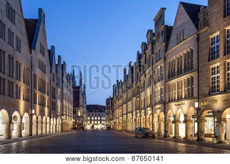 The Old Town Of Munster, Germany