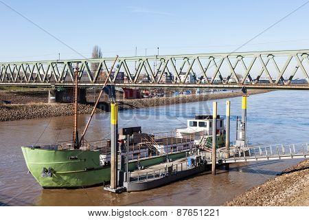 Old Ship In Bremen
