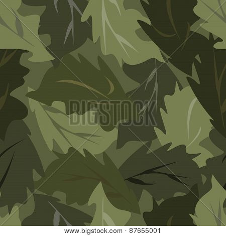 seamless background dark leaves