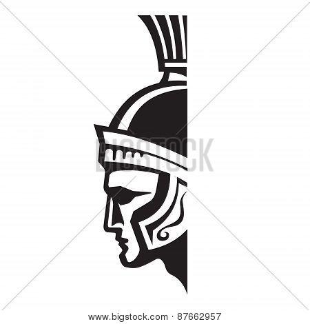 Centurion - vector logo sign template.