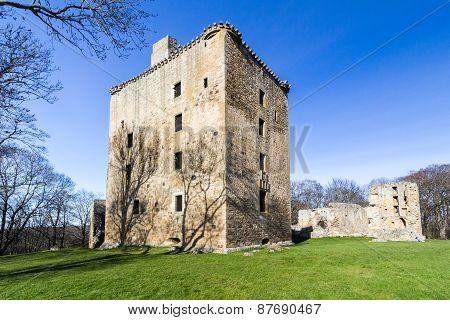 Spynie Palace, Elgin, Scotland