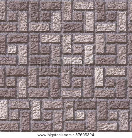 Brick Pavement Generated Teture