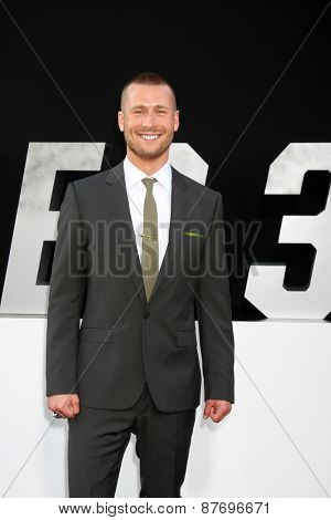 LOS ANGELES - AUG 11:  Glen Powell at the