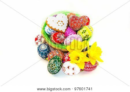 Traditional Czech Easter Decorations