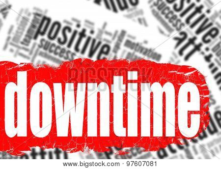 Word Cloud Downtime