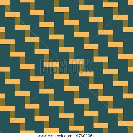 Abstract Seamless Geometric Pattern Of Tiles In The Form Of Stairs