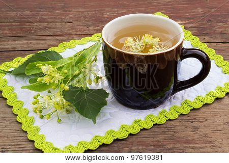 Curative Tea With Lime Blossom