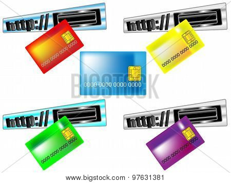 Card for online payments