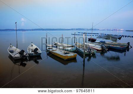 Sunrise At Fisherman Jety