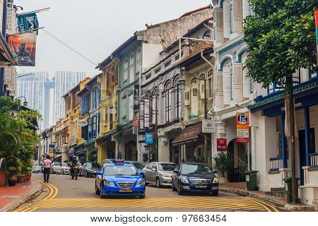 Famous Club Street In Singapore