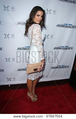 LOS ANGELES - AUG 1:  Jessica Uberuaga at the