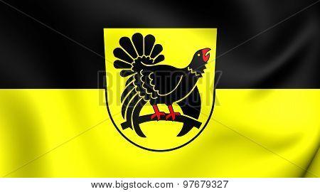 Flag Of Freudenstadt District, Germany.