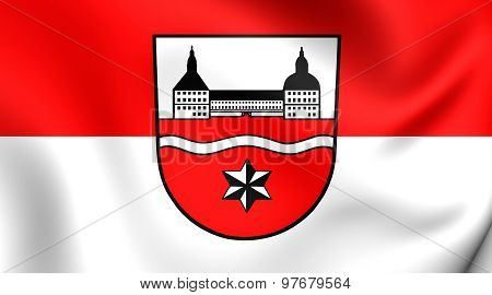 Flag Of Gotha District, Germany.