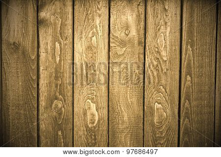 Plank Fence Background