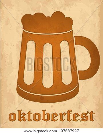 Oktoberfest Vintage Design