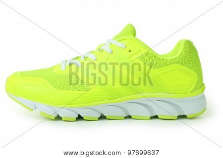 Pair Of Sport Shoes isolated on a white