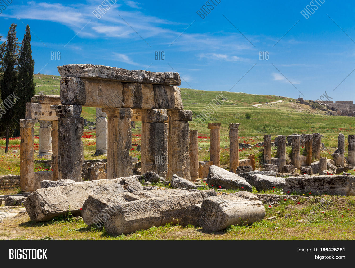 Elements Wall Ruined Image & Photo (Free Trial) | Bigstock