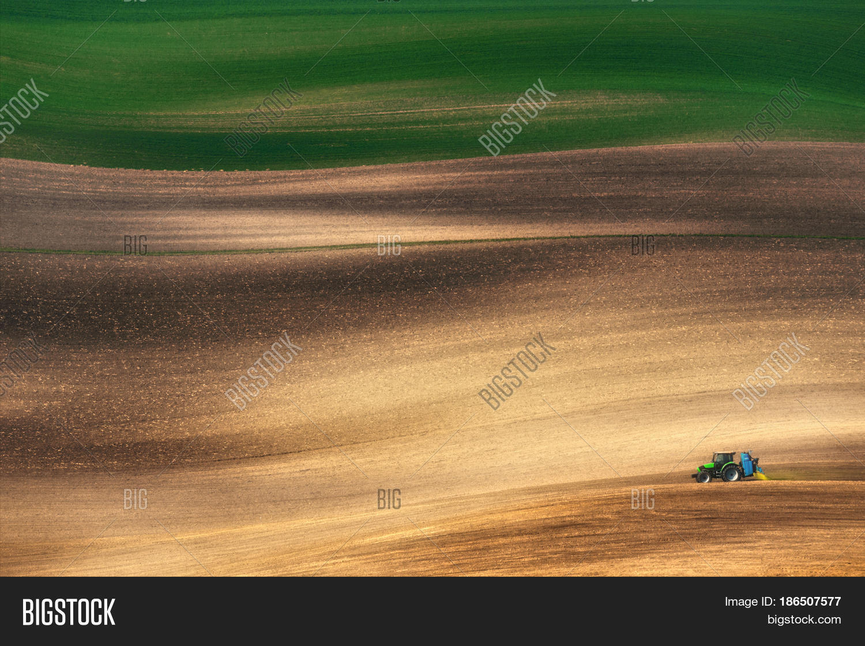 Farming Tractor Image & Photo (Free Trial) | Bigstock