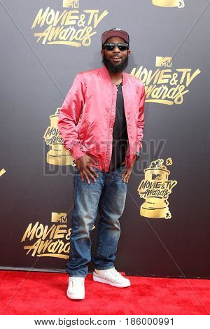 LOS ANGELES - MAY 7:  Karlous Miller at the MTV Movie and Television Awards on the Shrine Auditorium on May 7, 2017 in Los Angeles, CA