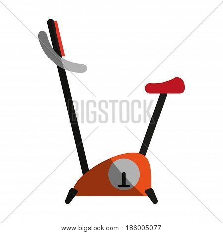 stationary bike icon image vector illustration design