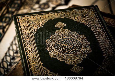 Koran - holy book , of Muslims