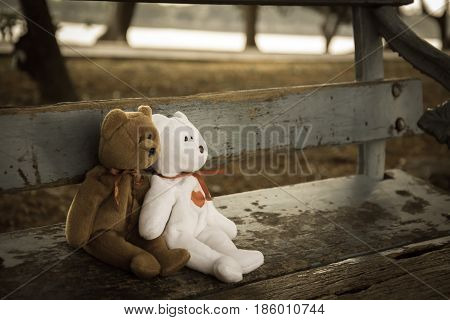 teddy bear , two teddy bear in love