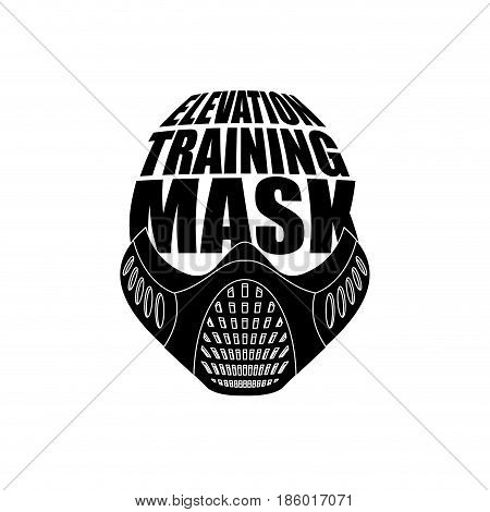 Elevation Training Mask Fitness. Sports Accessory For Athlete