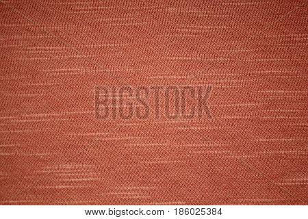 orange cloth , fine texture orange fabric closeup