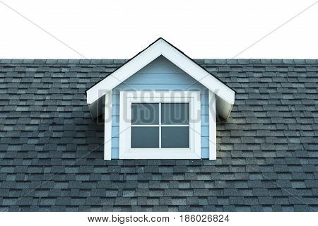 Old style roof of house. Roof tiled texture.