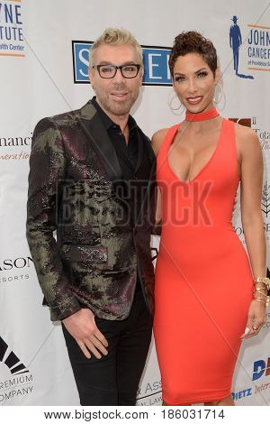 LOS ANGELES - MAY 10:  Chaz Dean, Nicole Murphy at the ABC Mothers Day Luncheon on the Four Seasons Hotel on May 10, 2017 in Beverly Hills, CA