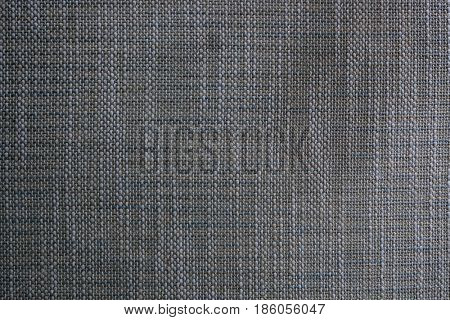 Rough gray fabric texture or background