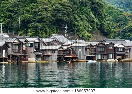 Traditional Japanese Water House of Ine Cho