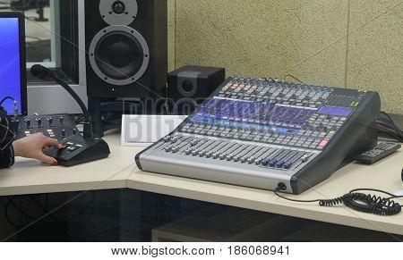 Live Broadcasting On Radio Stations In Kiev
