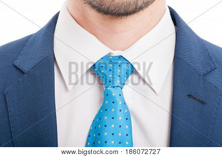 Close-up Shot Of Man Dressed In Formal Wear