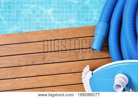 Manual Skimmer For Pool Maintenance