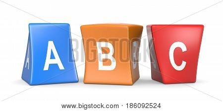 Abc Funny Cubes