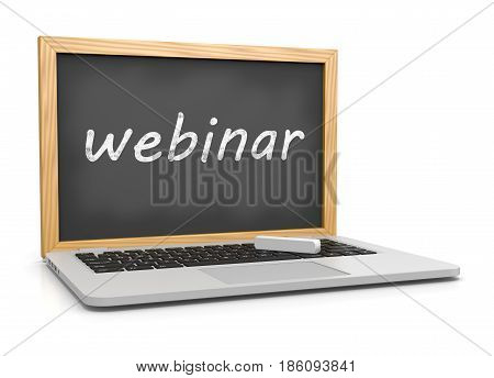 Webinar, Online Training Concept