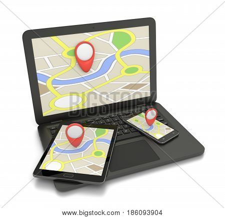 Online Map Service